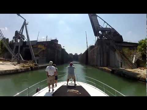 Welland Canal and Detroit River Timelapse