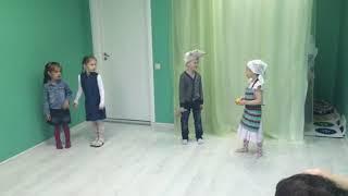 The Cat and the Mouse - спектакль на английском языке для детей 4 - 6 лет