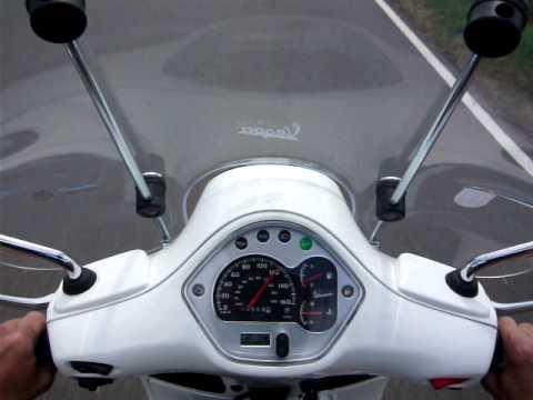 vespa gts 300 super test 0 120 km h speedtest youtube. Black Bedroom Furniture Sets. Home Design Ideas