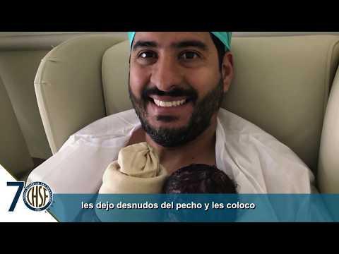 Contacto piel a piel con tu bebé