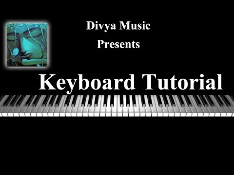 Instrument Tutorials | Beginners Keyboard Lesson | Learn Keyboard Online | Divya Music