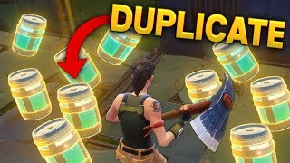 DUPLICATING ITEMS BUG..?! | Fortnite Funny and Best Moments Ep.9
