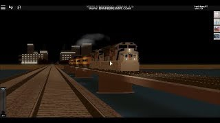 Roblox Rails unlimited: Few clips of the West Network (Up 1943) train passing by fast.