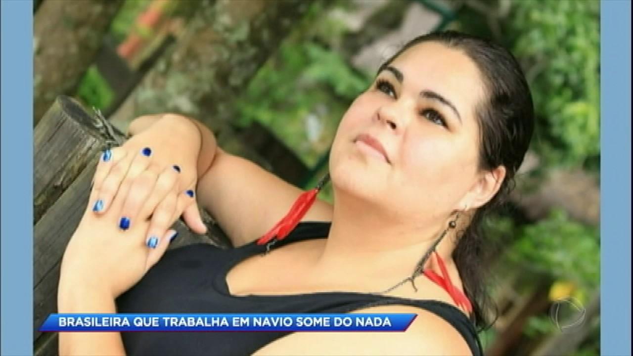 BRASILEIRA QUE TRABALHA EM NAVIO DESAPARECE APÓS DESCOBRIR TRAIÇÃO DO NAMORADO