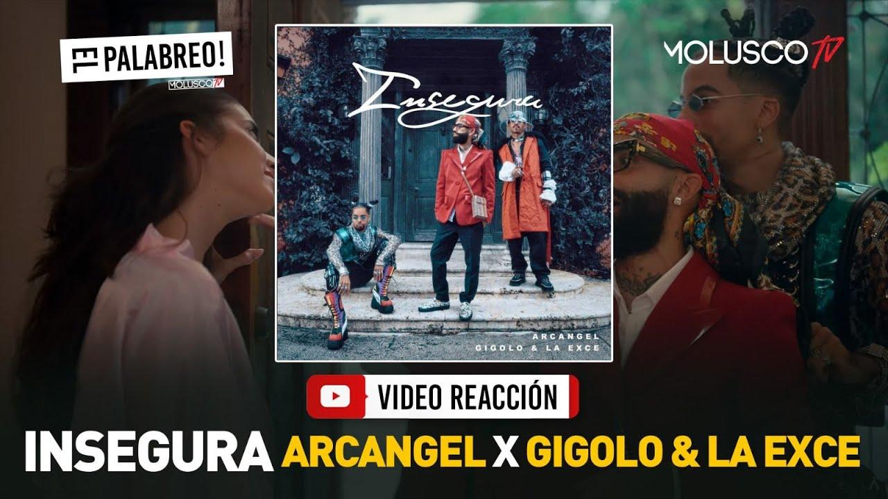Arcangel junto a Gigolo y La Exce hacen palabreo HISTÓRICO en INSEGURA #ElPalabreo 🔥