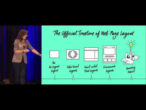 """Designing With Grid"" By Jen Simmons – An Event Apart Denver 2017"