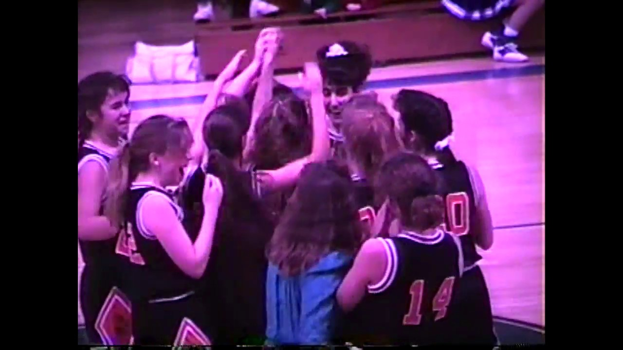 Lisa Zaferakis Hits the Game Winner   2-21-91