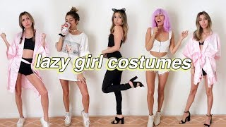 SUPER LAST MINUTE halloween costumes!! (with clothes you already have!)