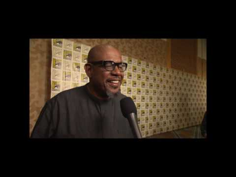 Forest Witaker Interview On Black Panther Trailer and San Diego Comic Con Hall H Reaction #SDCC
