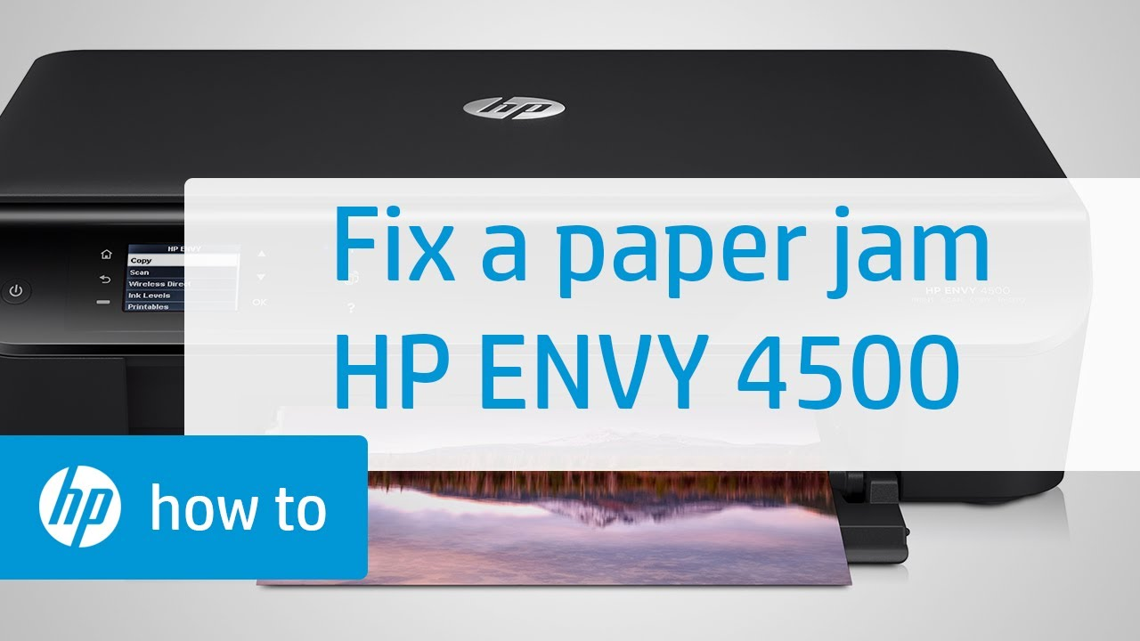 How to Clear a Paper Jam in an All in One Printer: 13 Steps