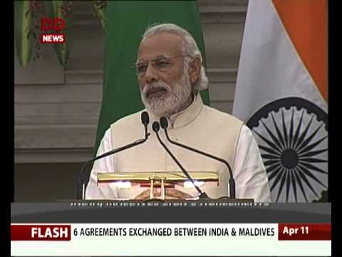 India, Maldives signed 6 agreements