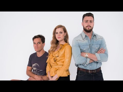 Amy Adams, Aaron TaylorJohnson, and Michael Shannon on 'Nocturnal Animals' at TIFF