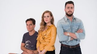 Amy Adams, Aaron Taylor-Johnson, and Michael Shannon on