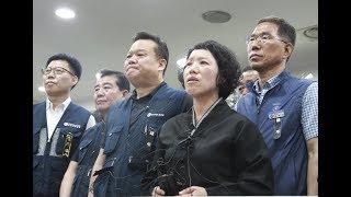 우정노조, 故강길식 동지 과로사 기자회견
