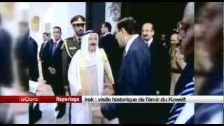 Irak, visite historique de l'émir du Koweït