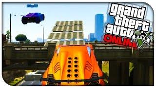 GTA 5 Funny Moments - SUPERMAN TRIPLE JUMP RACE! [GTA V Online Funny Races]