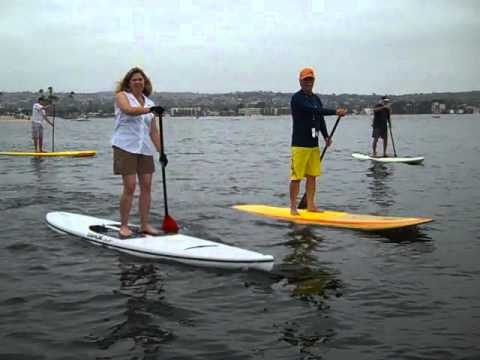 SUP Stand Up Paddle Boarding on Tahoe Boards with Bob Long of West Coast Paddle Sports