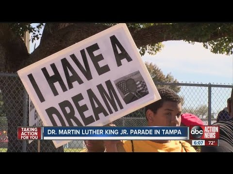 Dr. Martin Luther King Jr. parade in Tampa