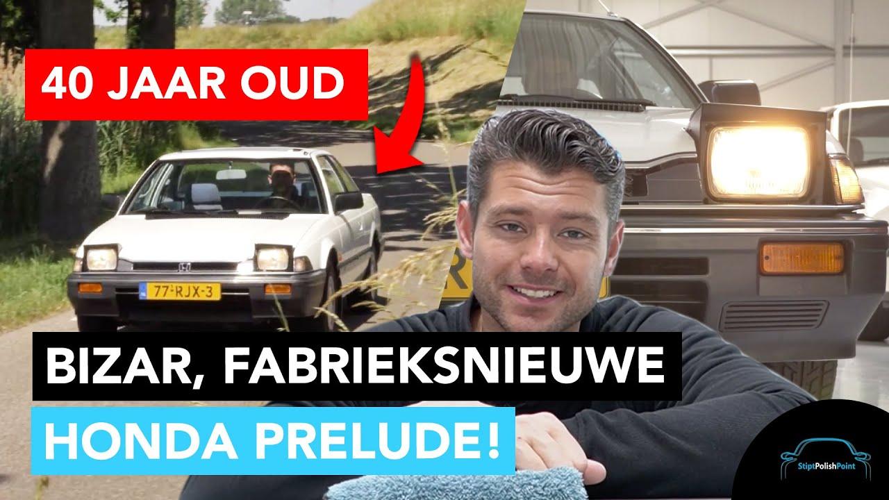 De auto van Bassie en Adriaan (Honda Prelude) fabrieksnieuw! - Stipt Polish Point