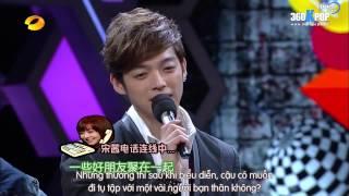 [Vietsub] f(x) Victoria's Phone Call w Zhou Mi and Calvin {T-Express Team}[360KPOP]
