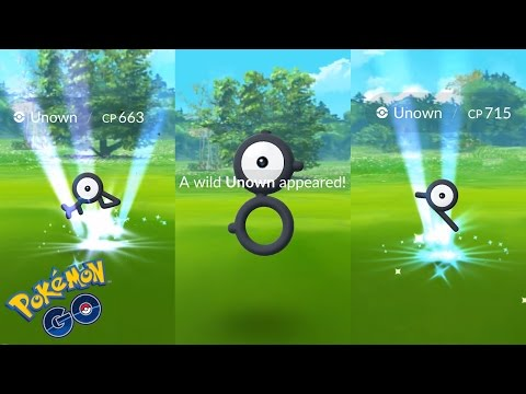 Pokémon Go Unown - Everything we know about the elusive