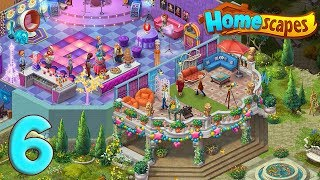 Homescapes Gameplay Story Party Room Day 6 / Комната для Вечеринок день 6
