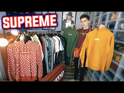 The BEST SUPREME COLLECTION On YouTube! ($50,000+)