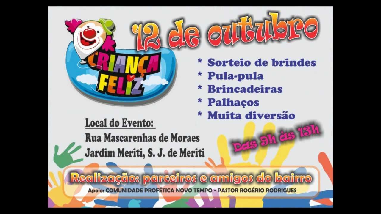 Convite Para Festa Do Dia Das Crianças
