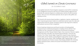 Global Summit: Executive Compensation and Climate Targets