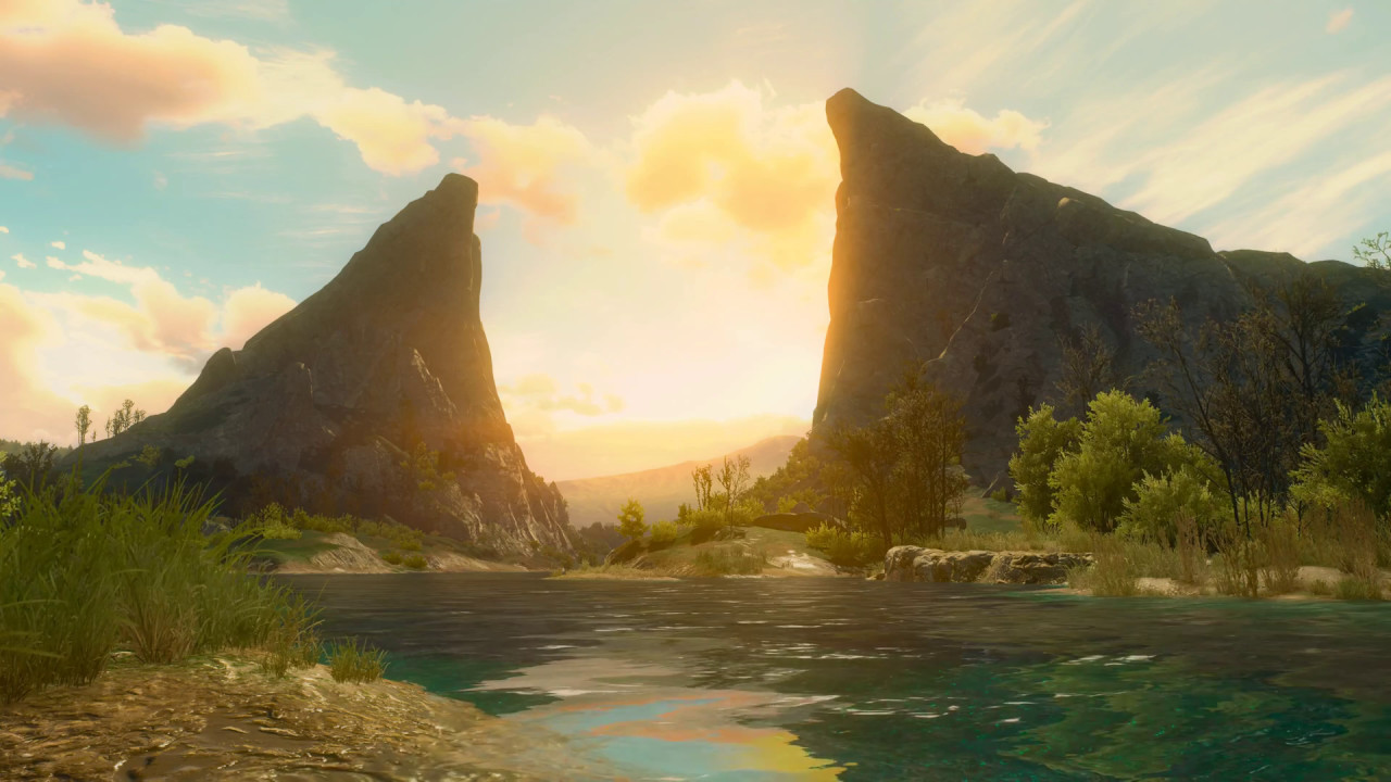 Between the cliffs witcher 3 live wallpaper youtube - 4k wallpaper download ...