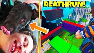 DEATHRUN 4.0... + NEW PUPPY!!!! (FaZe House Vlog)