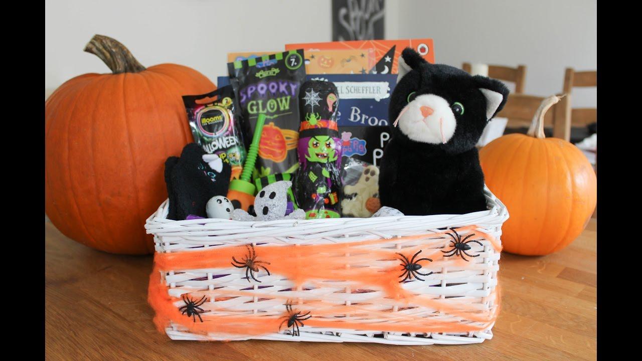 halloween treat basket ideas for kids youtube
