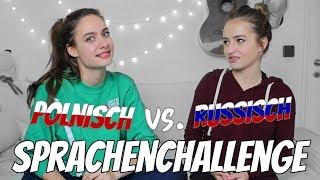 POLNISCH vs. RUSSISCH || SPRACHEN CHALLENGE mit meiner BFF