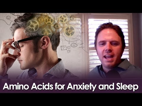 Amino Acids for Anxiety and Sleep - Live Podcast #146