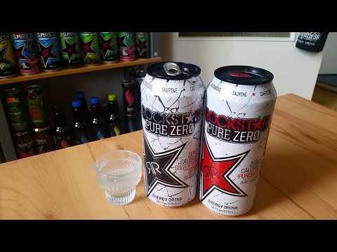 LET´S DRINK: ROCKSTAR PURE ZERO SILVER ICE 473ml (USA)