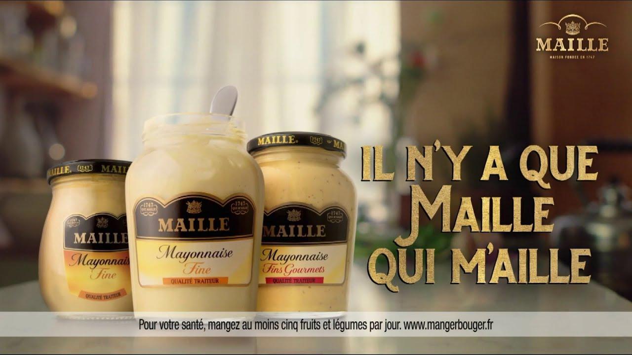 """Musique de la pub Mayonnaise Fine Maille & Maille apéritif Unilever """"il n'y a que Maille qui m'aille"""" Pub 25s Juillet 2021"""