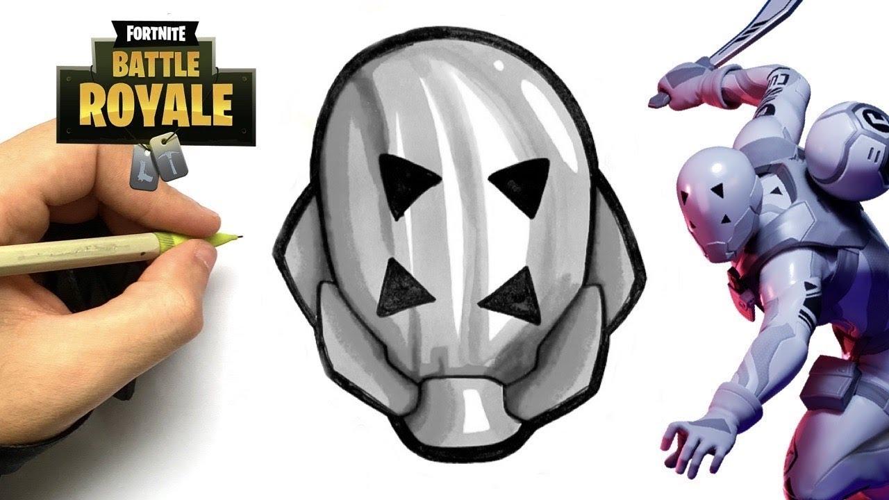 Tuto Dessin Emoji 8 Ball Blanc Skin Fortnite Chapitre 2 Youtube