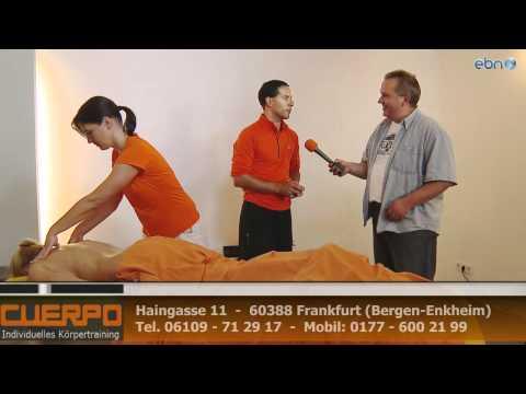Hot Stone Massagen Frankfurt für Sport Wellness und Entspannung im CUERPO Fitnessstudio