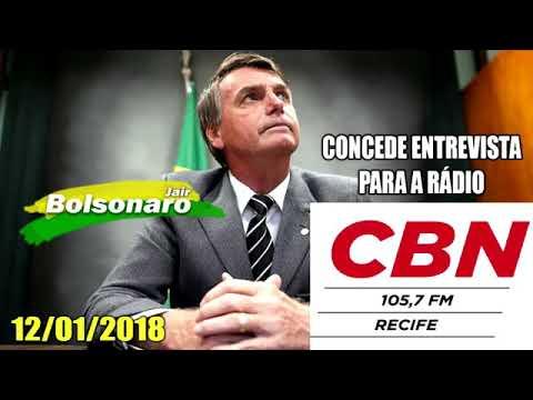 Entrevista Rádio CBN Recife.