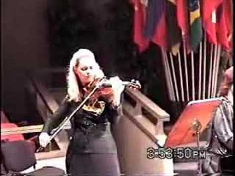 Mozart Violin Sonata B flat K454 2nd mvt - Rosalie Macmillan