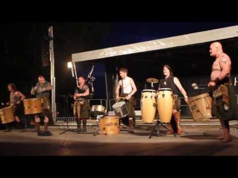 Clann An Drumma, Highland Games Bressuire, June 2013