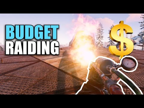 RAIDING on a BUDGET   Rust Solo Survival (2 of 6)