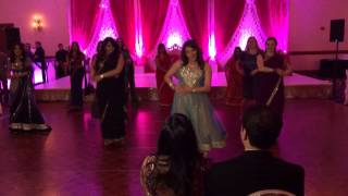 Avni and Raj Reception - Hookah Bar Dance