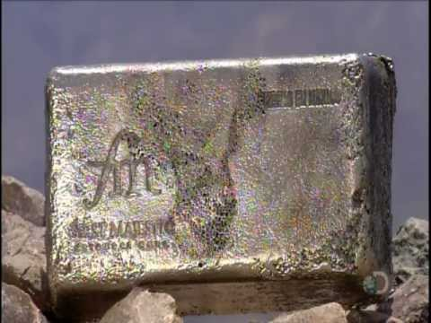 SILVER MINING / Making Doré Bars - Discovery Channel - YouTube