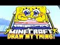 Minecraft - DRAW MY THING! (Funny Moments) w/Preston, Vikkstar & Woofless