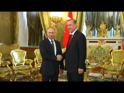 Erdoğan Putin görüşmesi