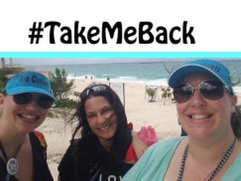 """Cabbage Beach Paradise Island & """"The Last Supper"""" Norwegian Escape Group Cruise Vlog [ep24]"""