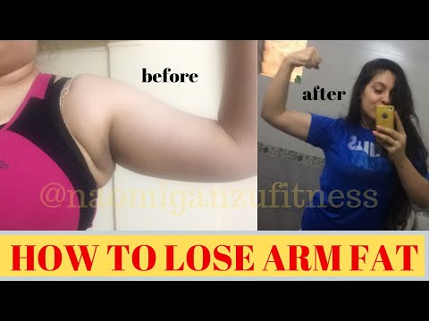 how to lose ARM FAT | 11 EXERCISES with WARM UP | no equipment WORKOUT | Naomi Ganzu Fitness