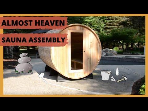Barrel Sauna Assembly