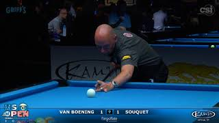 2017 US Open 10-Ball: Van Boeing vs Souquet